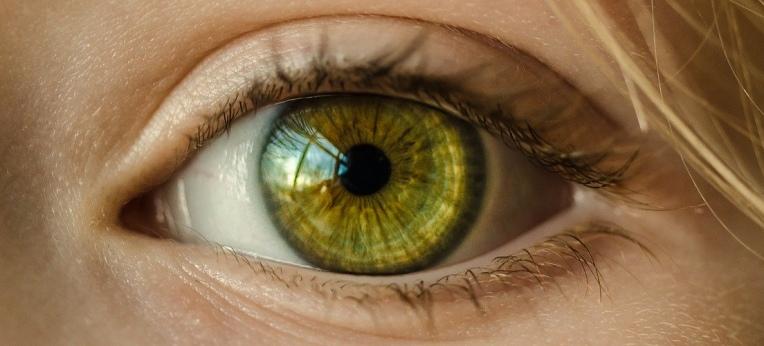 Leider kein Witz: Die Irisdiagnose geht davon aus, dass Erkrankungen des Menschen in den Strukturen seiner Iris sichtbar sind.