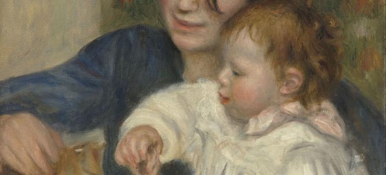 Auguste Renoir - Gabrielle und Jean