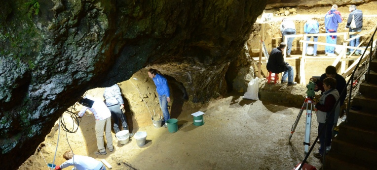 Bacho-Kiro-Höhle in Bulgarien
