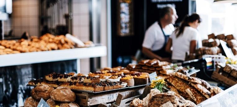 Sonntagvormittag beim Bäcker