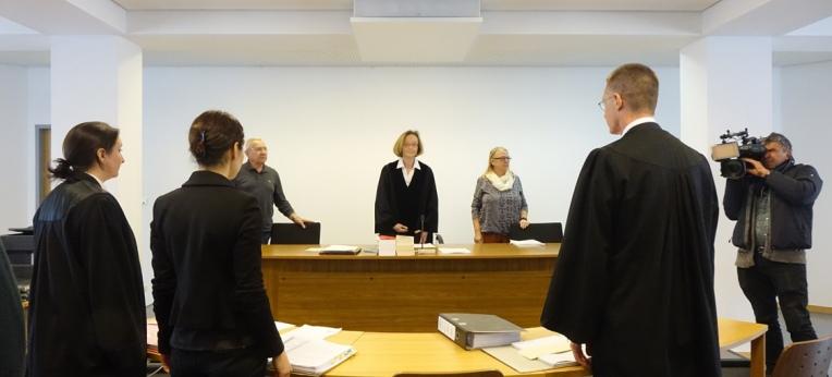 Vor der Berufungsverhandlung