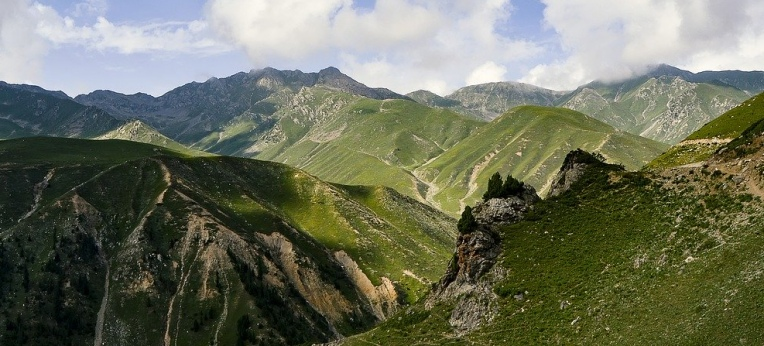 In der Abgeschiedenheit der pakistanischen Berge wird selten kontrolliert.