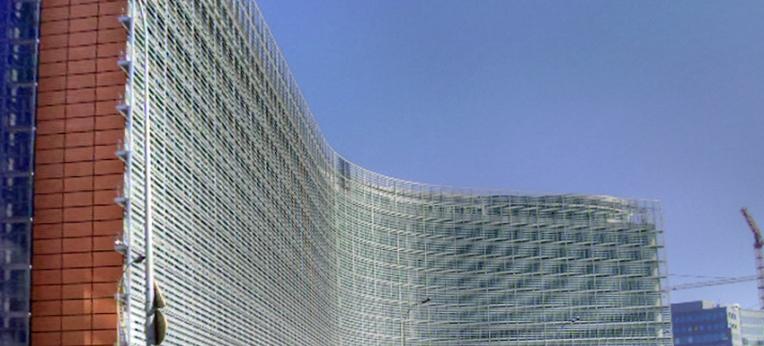 Berlaymont-Gebäude - Sitz der EU-Kommission in Brüssel