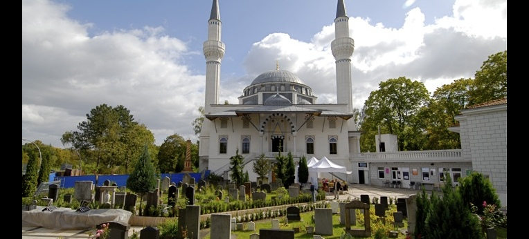 Sehitlik-Moschee in Berlin-Neukölln