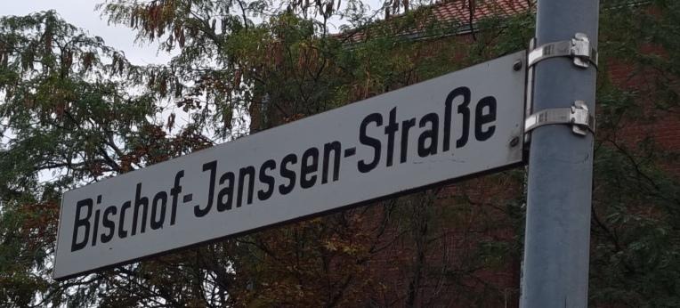 Bischof-Janssen-Straße in Hildesheim