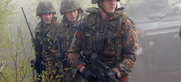 Deutsche Soldaten in Bosnien, Foto: gemeinfrei