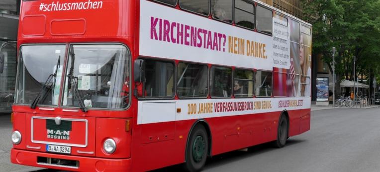 Säkulare Buskampagne 2019