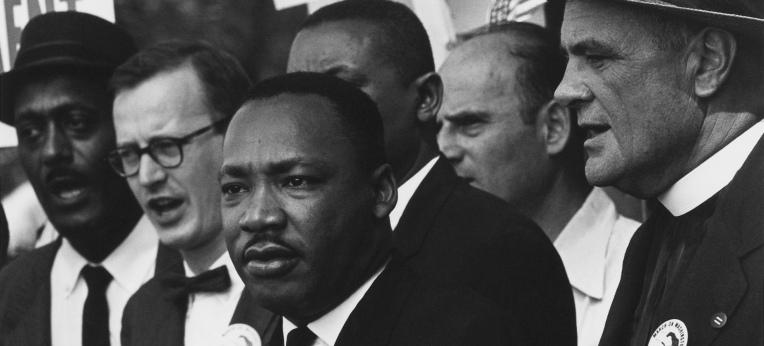 King auf dem Marsch auf Washington (1963)