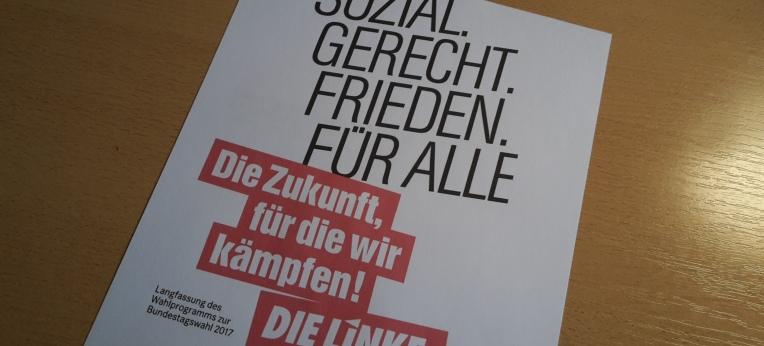 Die Linke Wahlprogramm 2017