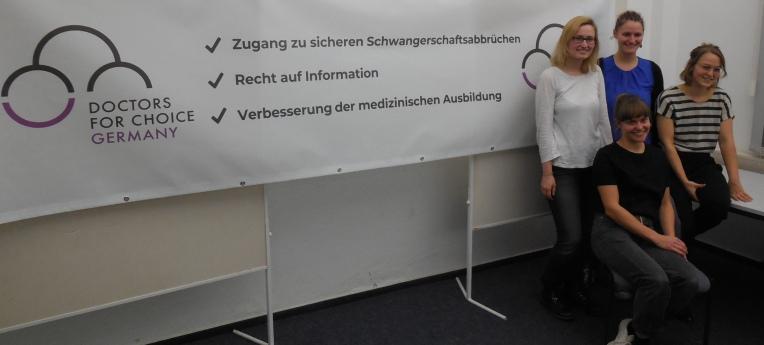 """Der Vorstand von """"Doctors for Choice Germany"""""""