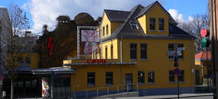 """Das Kulturzentrum """"E-Werk"""" in Erlangen"""