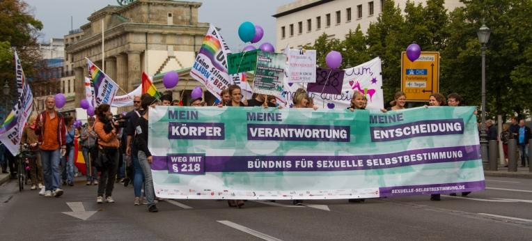 Demo für sexuelle Selbstbestimmung, Berlin