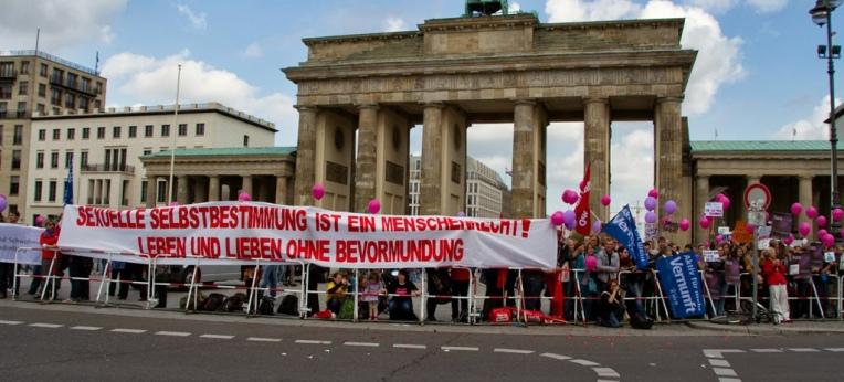 Kundgebung 2013