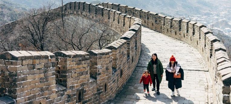 China: Land zwischen großer Mauer...