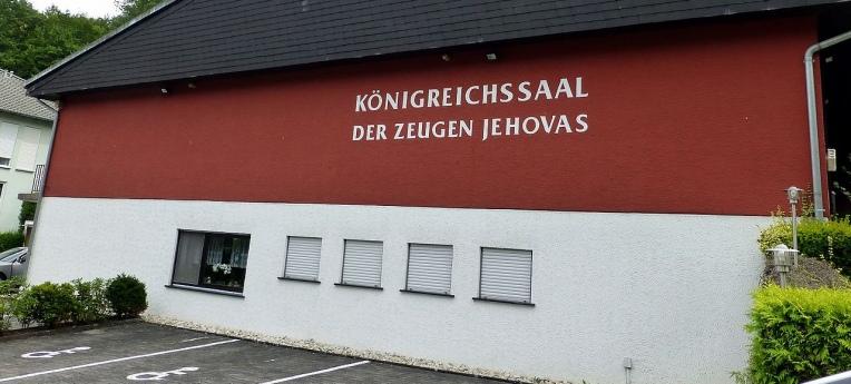 Der Königreichssaal der Zeugen Jehovas in Idar-Oberstein