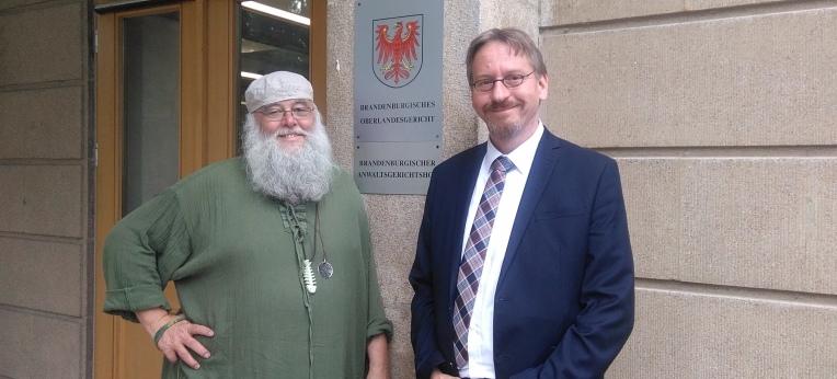 Rüdiger Weida und Winfried Rath
