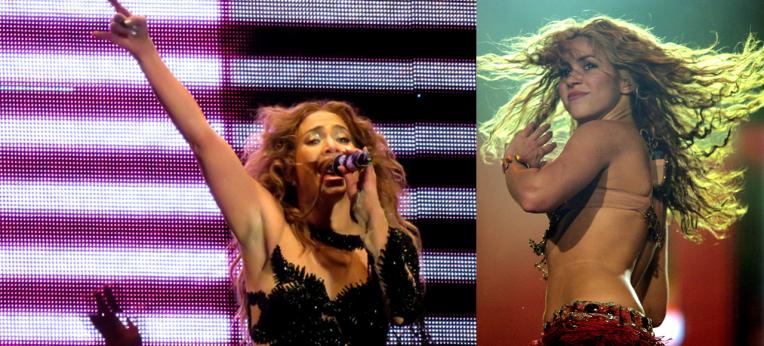 Jennifer Lopez und Shakira