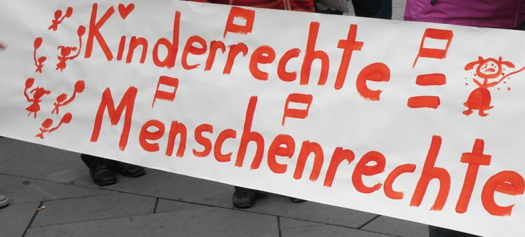 """Demo am """"United Nations Children's Rights Day"""" (Wien, 2010)"""