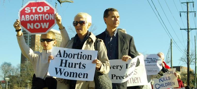 """Auch in den USA organisieren Abtreibungsgegner regelmäßig einen """"March for Life""""."""