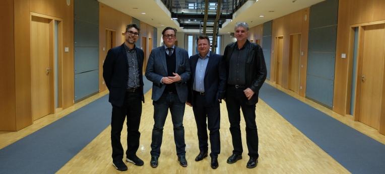 Die KORSO-Vertreter mit Dr. Konstantin von Notz (B´90/Grüne)