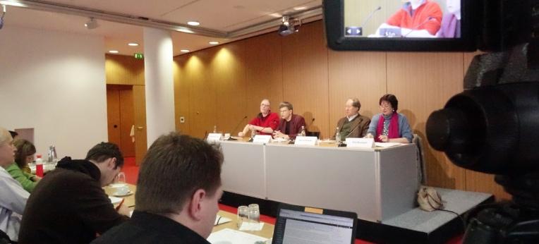 Pressekonferenz des KORSO