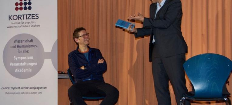 Prof. Dr. Martin Korte (l.) undThomas Fraps (r.)