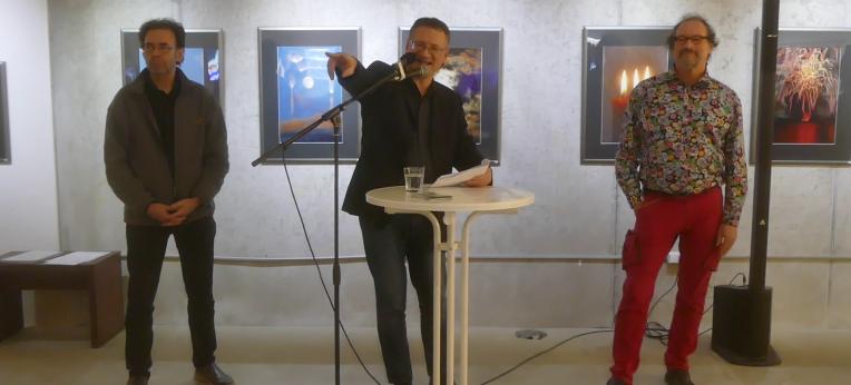 Jo Wilhelm + Dr Jürgen Eichenauer + Peter Menne