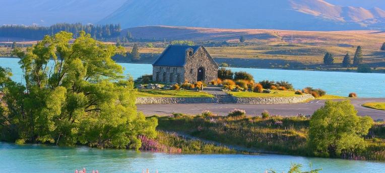 Kirche am Lake Tekapo