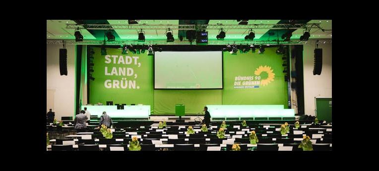 Vor dem Landesparteitag der Grünen NRW
