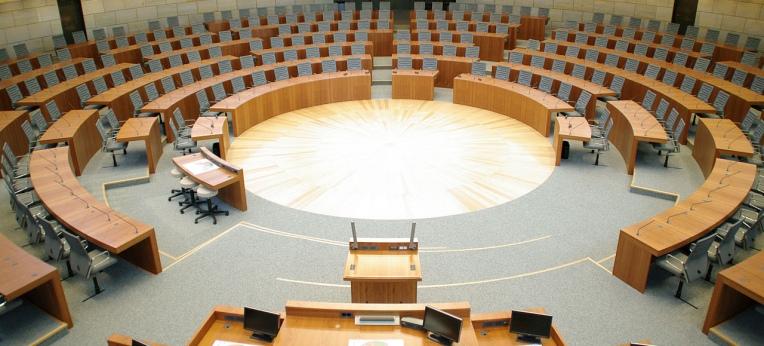 Plenarsaal Landtag Nordrhein-Westfalen