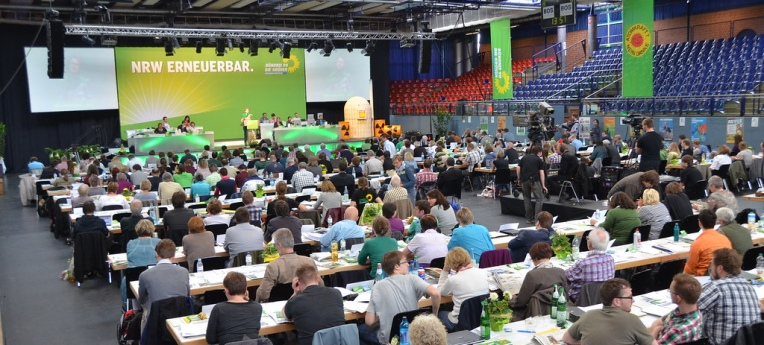 Landesdelegiertenkonferenz der Grünen NRW