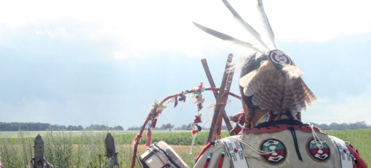 Schamane Chief Dancing Thunder