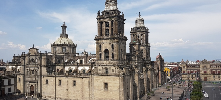 Kathedrale in Mexiko