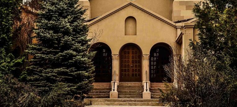 """Das katholische Kloster """"Monasterio del Cristo Orante"""" in Tupungato"""