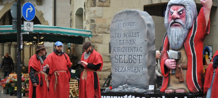 """""""Moses"""" in Münster, 2014"""