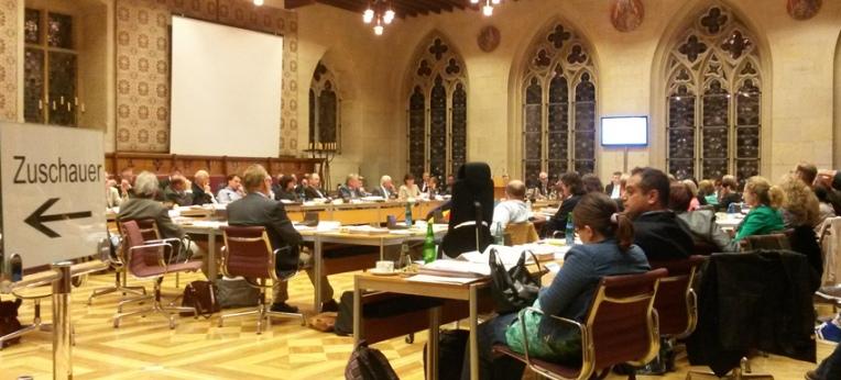 Ratssitzung in Münster