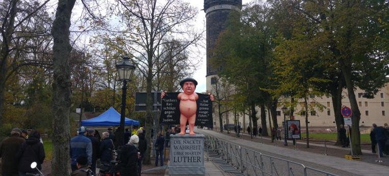 """""""Der Nackte Luther"""" musste draußen bleiben"""