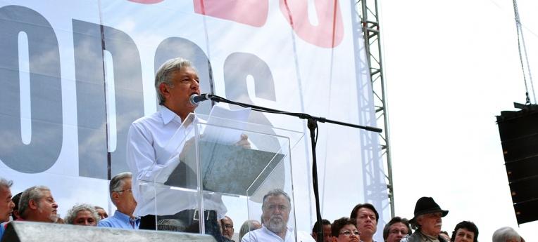 Der mexikanische Präsident Andrés Manuel López Obrador