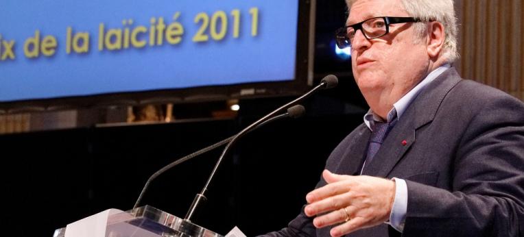 Patrick Kessel, Präsident des laizistischen Komitees Frankreich