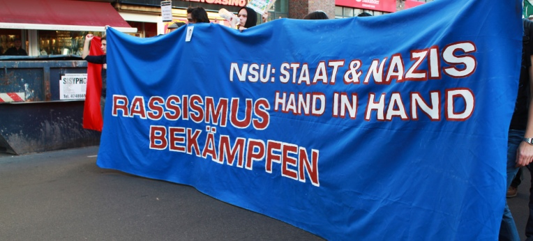 "Demo ""NSU: Staat und Nazis Hand in Hand"" am 01.11.14 in Berlin"