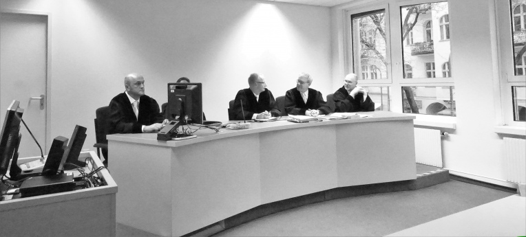 Die Richterbank