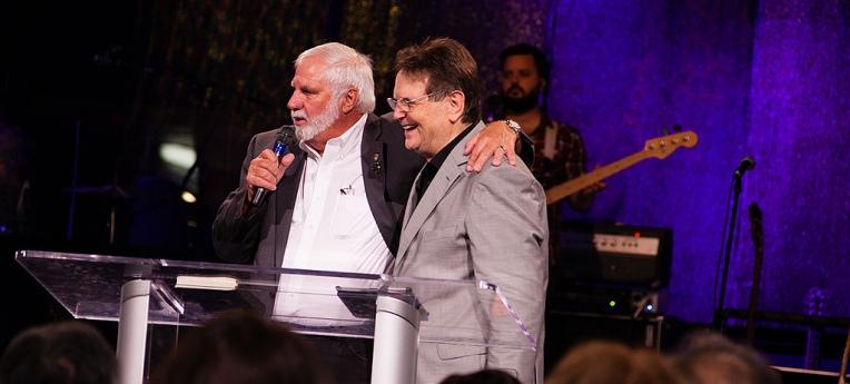 Rick Joyner (l.) und Reinhard Bonnke (r.)