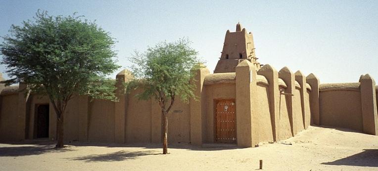 Die Sankoré-Moschee in Timbuktu.
