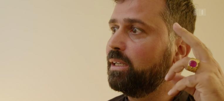 Screenshot aus der SRF-Sendung