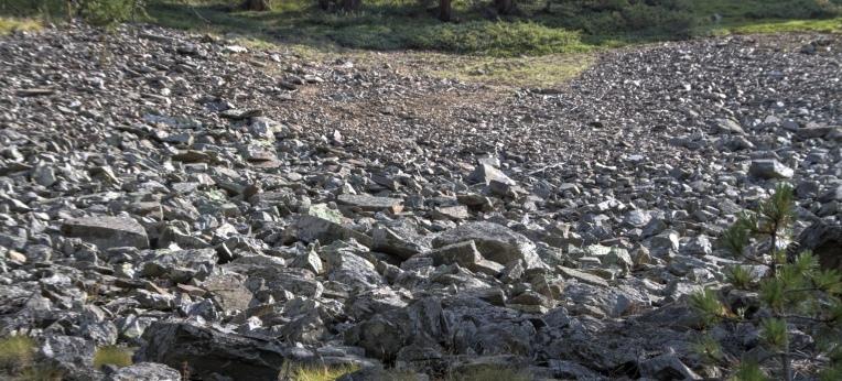 Wenn der Berg ins Rutschen kommt, kann ihn nichts aufhalten