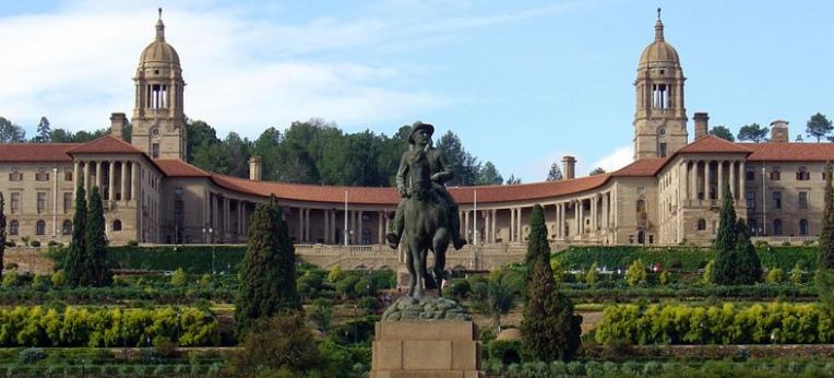 Die Union Buildings in Pretoria, Sitz der Exekutive