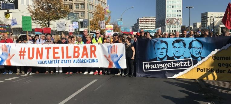 #Unteilbar-Demo am 13.09.2018 in Berlin