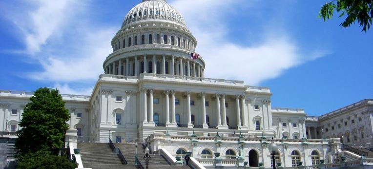 Das Kapitol in Washington.