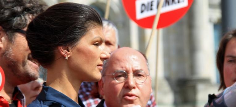 Sahra Wagenknecht und Gregor Gysi