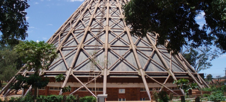 Wallfahrtskirche von Namugongo/Uganda